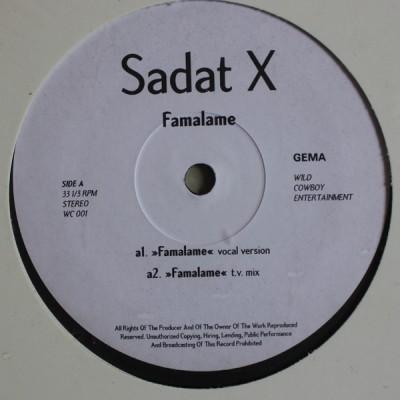Sadat X - Famalame