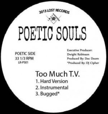 Poetic Souls - Too Much T.V. / 31 Flavors