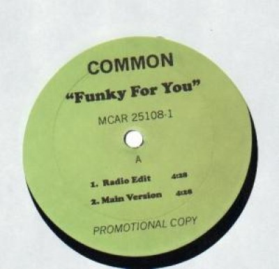 Common - Funky For You