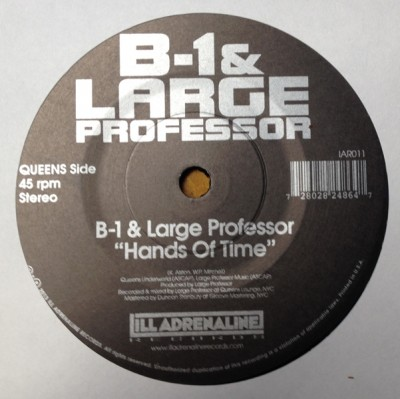 B-1 & Large Professor / Da Beatminerz & O.C. - Hands Of Time/ Spitgame