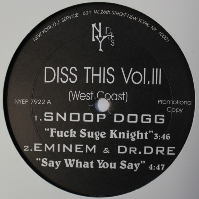 V.A. - Diss This Vol. III