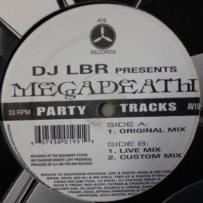 DJ LBR - Megadeath