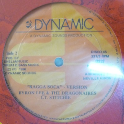 Byron Lee And The Dragonaires - Ragga Soca