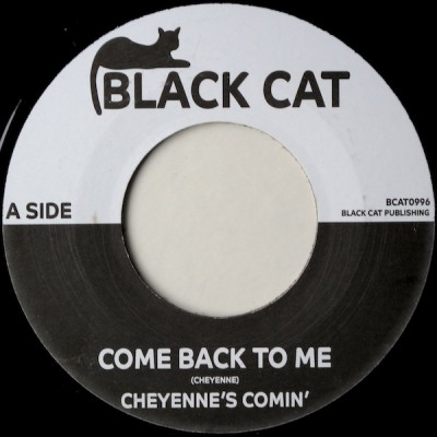 Cheyenne Fowler - Come Back To Me / Take Me To Your Home