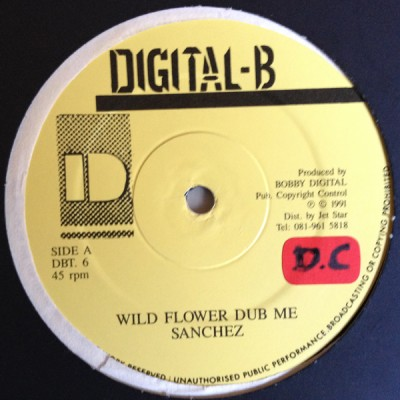 Sanchez - Wild Flower Dub Me/Wildflower (Dub)
