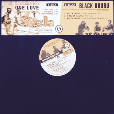 Sizzla / Black Uhuru - One Love / I Love King Selassie