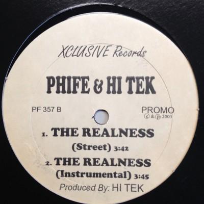 Phife Dawg & Hi-Tek – Soup - Soup / The Realness
