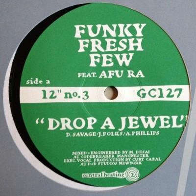 Funky Fresh Few / Dual Control - Drop A Jewel / Bring It On