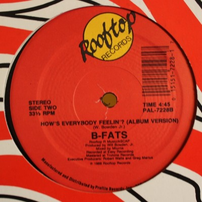 B-Fats - How's Everybody Feelin'?
