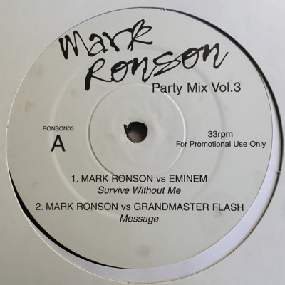 Mark Ronson - Party Mix Vol.3