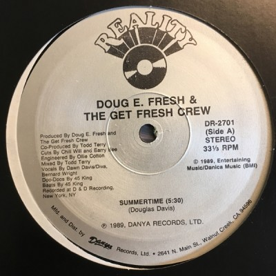 Doug E. Fresh And The Get Fresh Crew - Summertime