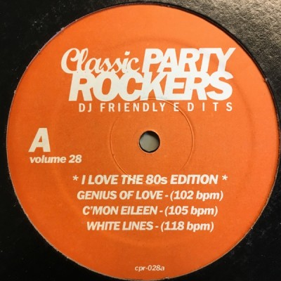 Various - Classic Party Rockers Vol. 28 - I Love The 80s Edition