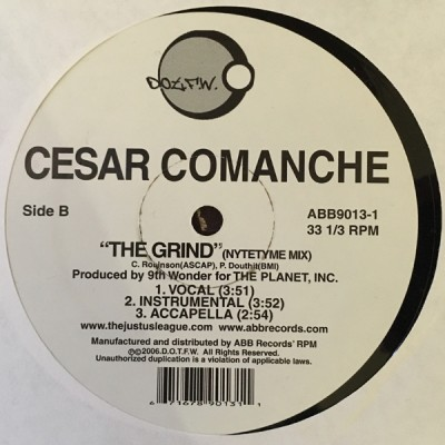 Cesar Comanche - The Grind