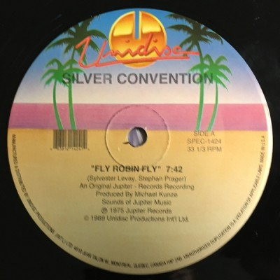 Silver Convention - Fly Robin Fly / Lady Bump