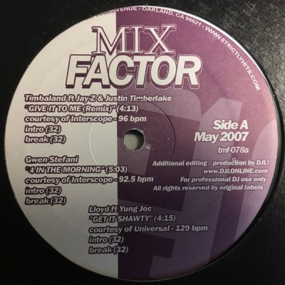 Various - Mix Factor Volume 78 (May 2007)