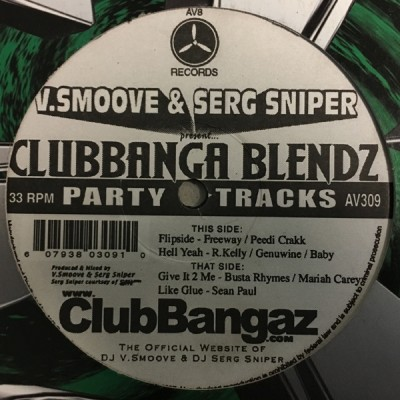 V. Smoove - Clubbanga Blendz
