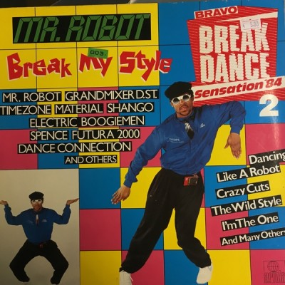 Various - Bravo Break Dance Sensation '84 2