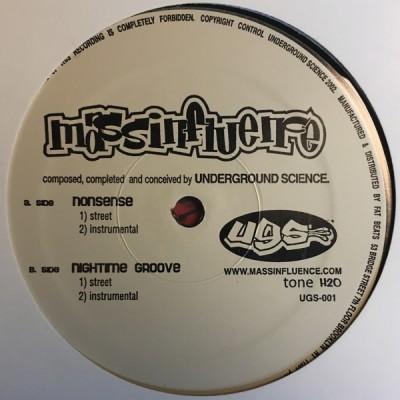 Mass Influence - Nonsense / Nightime Groove