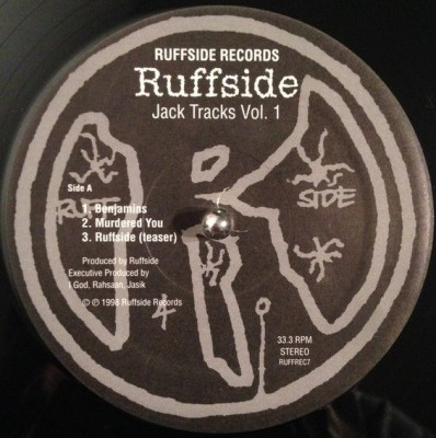 Ruffside - Jack Tracks Vol. 1