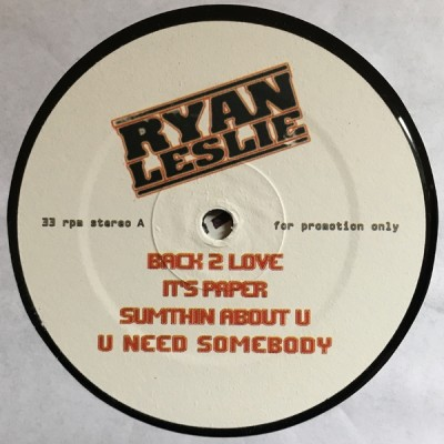 Ryan Leslie - Nextselection