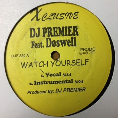Johnny Doswell - Watch Yourself / Hostile Takeover