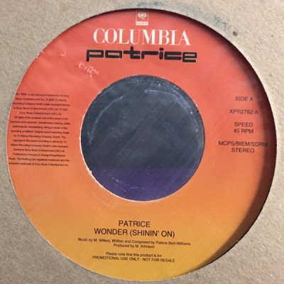 Patrice - Wonder (Shinin' On)