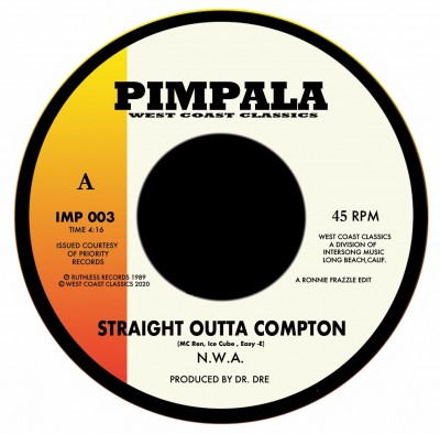 N.W.A. / Above The Law - Straight Outta Compton / Black Superman