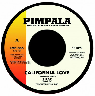 2 Pac / Ice Cube - California Love / Jackin For Beats