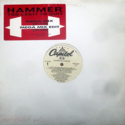 MC Hammer - 2 Legit 2 Quit (Mega Mix)