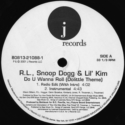 RL & Snoop Dogg & Lil' Kim- Do U Wanna Roll (Dolittle Theme)