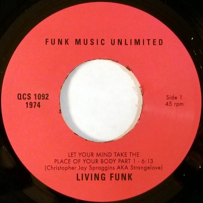 Living Funk - Let Your Mind Take The Place Of Your Body