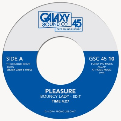 Pleasure, The Whatnauts - Bouncy Lady  / Why Can't People Be Colors Too?
