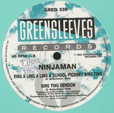 Ninjaman - Ting A Ling A Ling A School Pickney Sing Ting