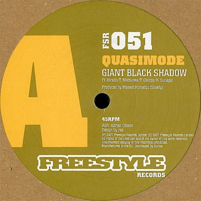 Quasimode - Giant Black Shadow