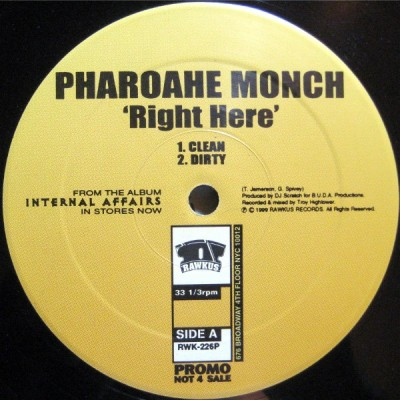 Pharoahe Monch - Right Here