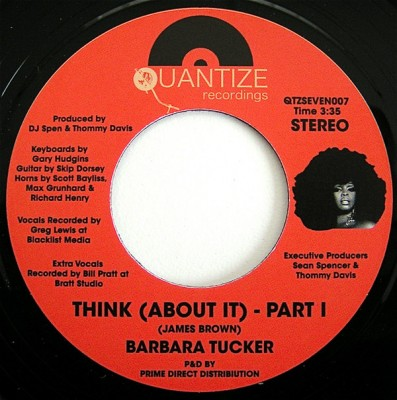 Barbara Tucker - Think (About It)