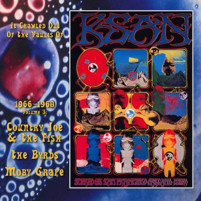 Country Joe And The Fish - It Crawled Out Of The Vaults Of KSAN 1966-1968 - Volume 3: Live At The Avalon Ballroom 1967 & 68