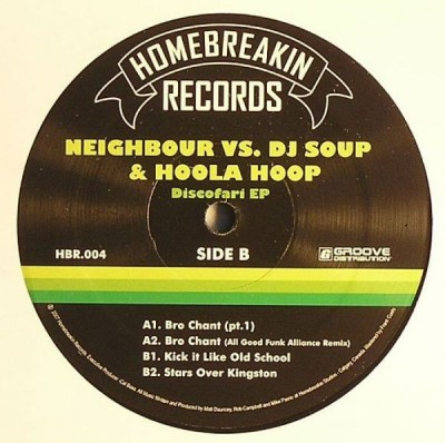 Neighbour vs DJ Soup & Hoola Hoop - Discofari EP