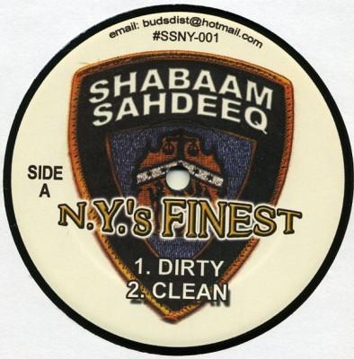 Shabaam Sahdeeq - N.Y.'s Finest