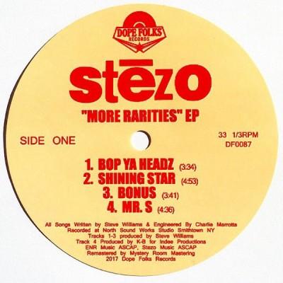 Stezo - More Rarities EP