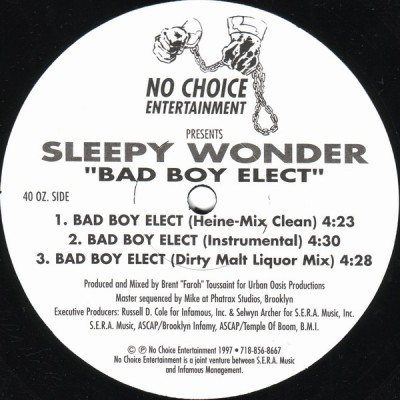 Sleepy Wonder - Bad Boy Elect