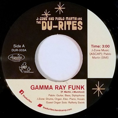 The Du-Rites - Gamma Ray Funk / Fish Sammich
