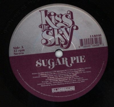 Kiss The Sky - Suger Pie / Glory