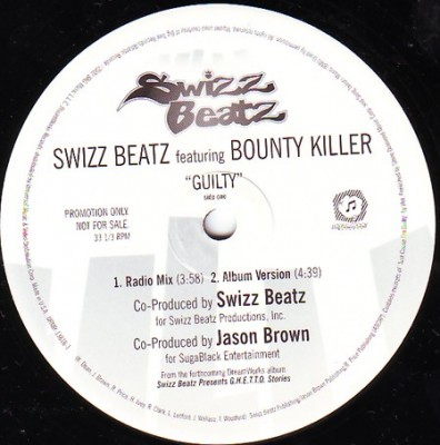 Swizz Beatz - Guilty