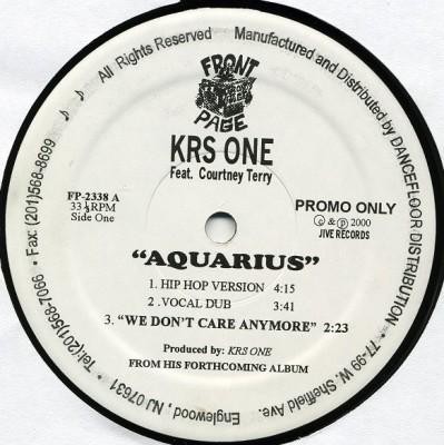 KRS-One - Aquarius