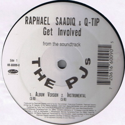 Raphael Saadiq & Q-Tip / Sy Smith - Get Involved / What I Am