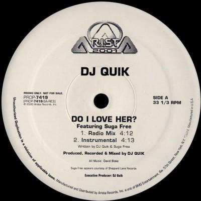 DJ Quik - Do I Love Her?