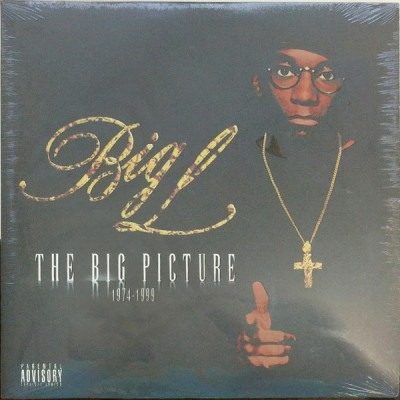 Big L - The Big Picture (Clear / Black Smoke vinyl)