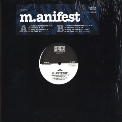 M.anifest - Babylon Breakdown