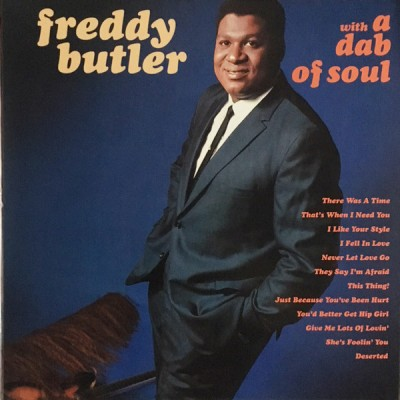 Freddy Butler - With A Dab Of Soul